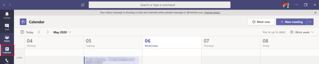 how to set up microsoft teams meeting